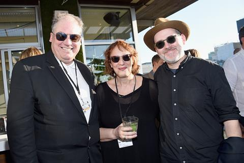 Adrian Wooton, Janet Pierson, Morgan Neville